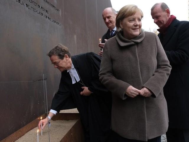 """Merkel und Steinmeier bei Gedenkfeier: """"Keine Mauer ist so hoch oder so breit, dass sie nicht doch durchbrochen werden kann"""""""