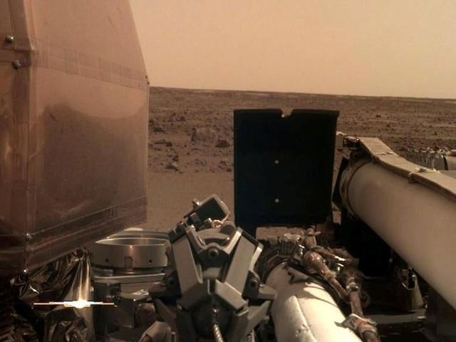 Nasa-Sonde zeichnet erstmalsGeräusche auf: So klingt der Mars