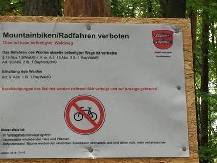 Gesperrte Trails im Forchheimer Stadtwald: Wie geht es jetzt weiter?