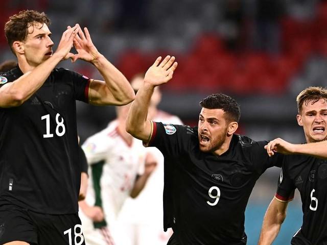 Gruß an die Ungarn-Fans: Goretzkasetzt mit Herz-Jubel Zeichen für Toleranz