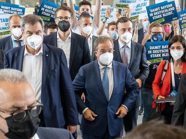"""""""Anzeichen einer Trendwende"""": Söder sieht Union-Tief auch als Corona-Folge"""