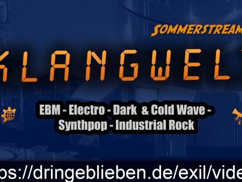 KLANGWELT Sommerstream aus dem EXIL Göttingen – Sa. 26.06. ab 21 h