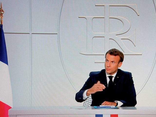 Corona in Frankreich: Macron kündigt Maßnahme an, die laut dem Präsidenten vor allem junge Menschen trifft