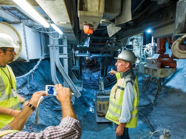 Brenner Basistunnel: Es ist Halbzeit beim Weltrekord im Tunnelbau