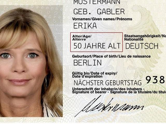 Weniger Rechnerei: Alter wird künftig direkt auf Personalausweis gedruckt
