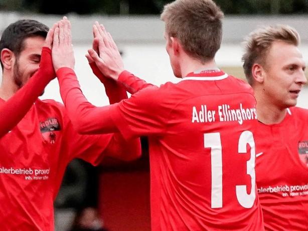 Fußball: Adler Ellinghorst: Erst hui, dann pfui