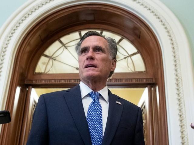 Supreme Court: Mitt Romney unterstützt Senatsabstimmung über Donald Trumps Kandidatin