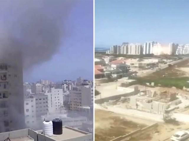 Berichte über Tote und Verletzte: Israel weitet nach anhaltendem Raketenbeschuss Angriffe auf Gaza aus