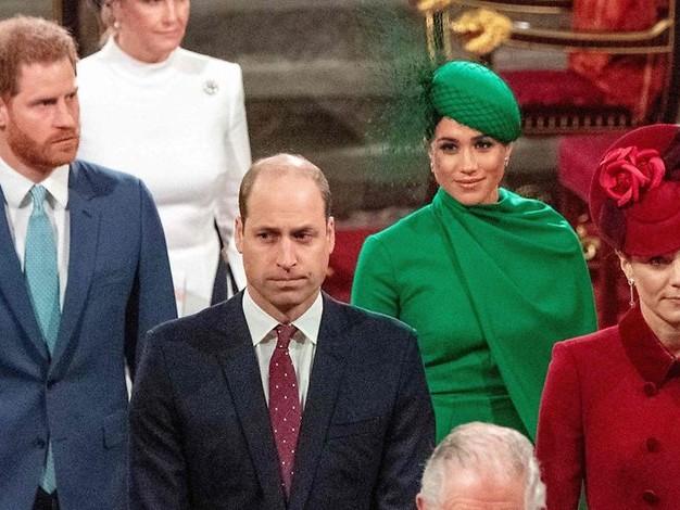 Prinz Philips Beerdigung: Verstrittene Brüder Harry und William laufen getrennt
