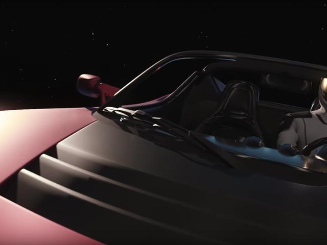 Wo befindet sich eigentlich gerade der Tesla Roadster im All? | Dude, where's my luxury Tesla?