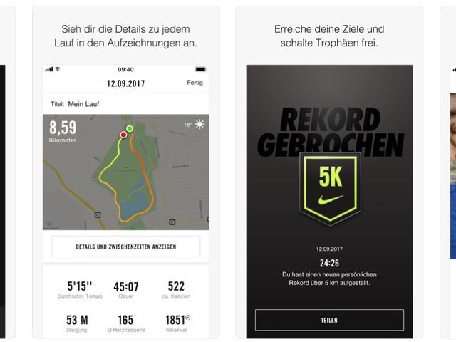 Nike+ Run Club: Update bringt neue Herausforderungen