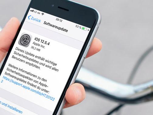 13. iOS 12-Update seit Ausgabe von iOS 13 verfügbar