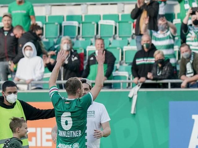 """Kühbauer und Rapids 2. Platz: """"Ich will die Kugel nicht mehr sehen"""""""