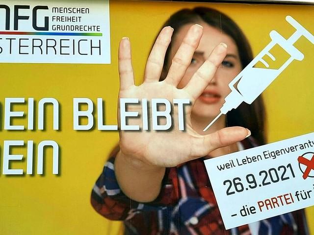 Corona-Impfskeptiker überraschen bei Wahl in Oberösterreich