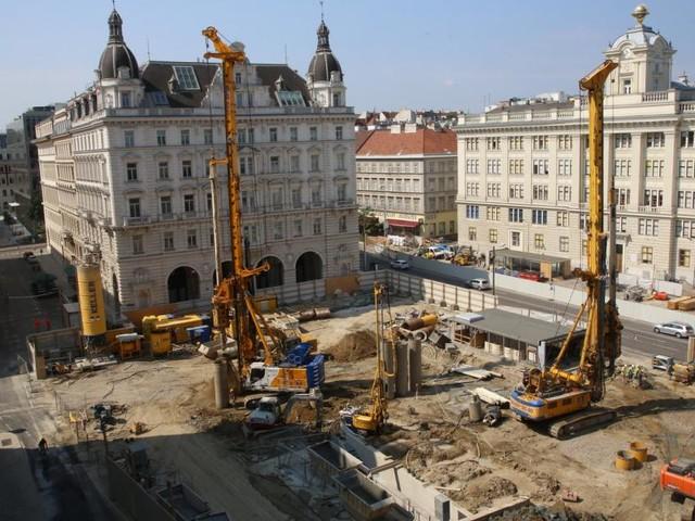 Die U-Bahn und ihre Baustellen