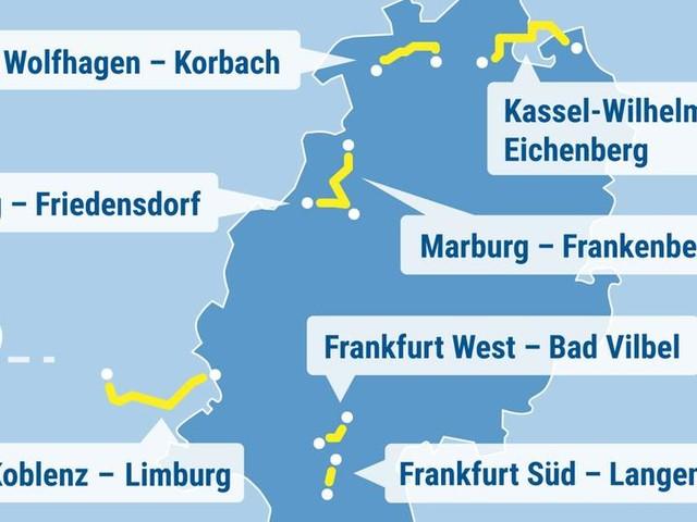 Bahn-Sperrungen in Hessen: Auf diesen Strecken wird in den Sommerferien gebaut