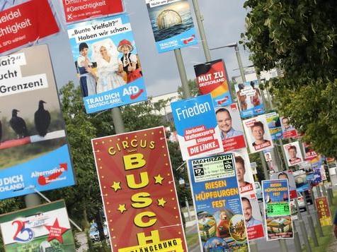 Bei den Berlinern liegt die CDU vorn