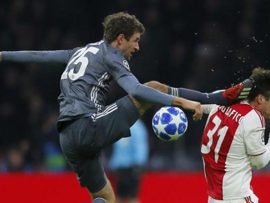 DAS sagt Thomas Müller zum Horror-Foul an Ajax-StarTagliafico