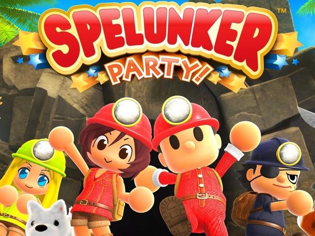 Spelunker Party! - Neues Spelunker-Abenteuer für PC und Switch angekündigt
