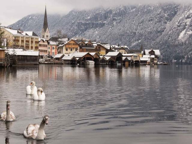 Märchenhaft: Im Winter mit dem Zug nach Hallstatt