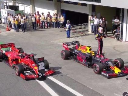 Formel 1: Red Bull überrascht in Brasilien Verstappen stürmt zur Pole