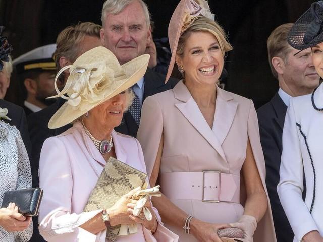 Bild mit Seltenheitswert: Herzogin Kate trifft auf gleich zwei Königinnen