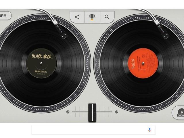 Zum 44. Geburtstag des HipHop: Google lässt Euch in neuem Doodle zu DJs werden