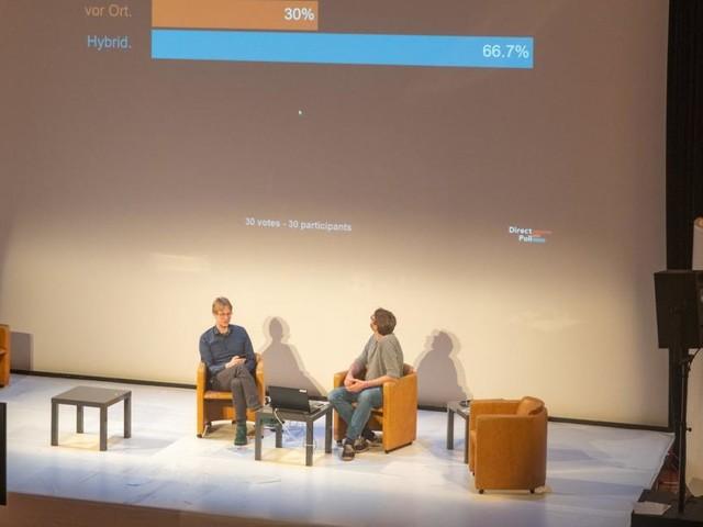 Volles Haus bei leerem Saal: Online-Symposium erweiterte Publikum