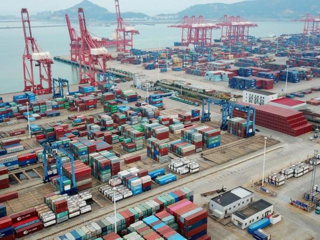 Wieder Schiffs-Stau vor chinesischen Häfen