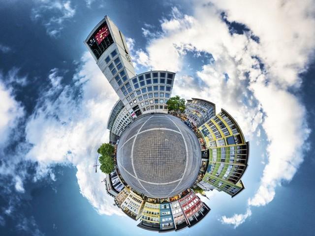 Panorama-Fotografie: Die Erde ist rund