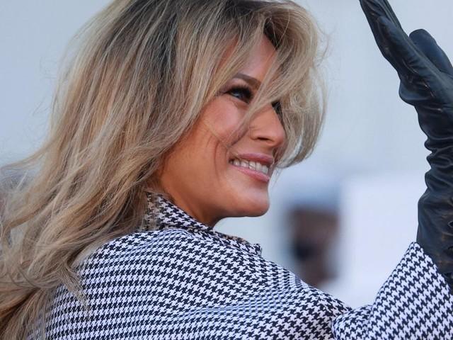 Melania Trump leistet sich ersten Fauxpas nach Donalds Amtszeit