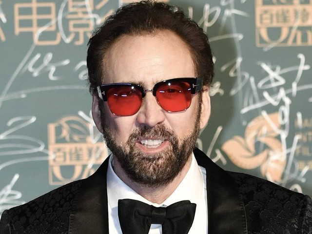 Nicolas Cage über den grauenhaften Zinken in seinem Gesicht