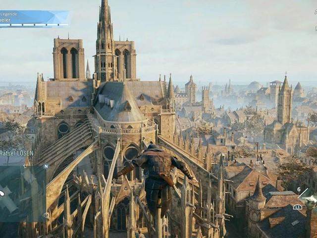 """Künstlerin verbrachte zwei Jahre in Gebäude - Genaueste Nachbildung: Beim Wiederaufbau von Notre Dame könnte """"Assassin's Creed"""" helfen"""