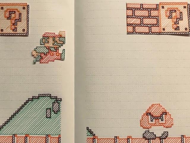 'Paper Mario Bros.' – Hand-Drawn 'Super Mario Bros.' Stop-Motion-Action