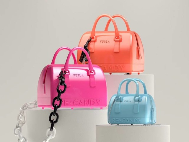 FURLA // Spring & Summer 2022 // Furla's new sustainable icon: The Re-Candy