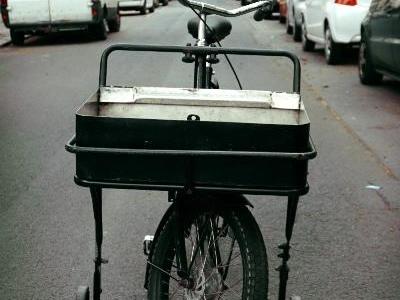 seltenes EXCELSIOR Fahrrad Transportrad Lastenrad Postrad Holland Bakfiets Stil in Berlin Friedrichshain-Kreuzberg