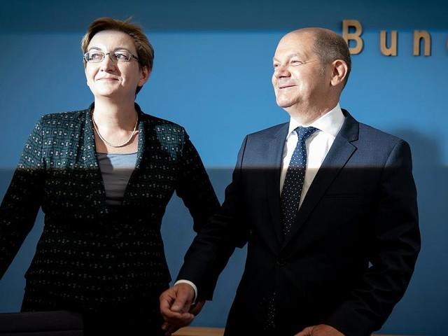 Kandidaten-Team für den SPD-Vorsitz - Scholz und Geywitz offen für Bündnis mit Grünen und Linken