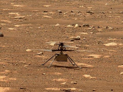 """Nasa: Vierter Flug von Mars-Hubschrauber """"Ingenuity"""" gescheitert"""