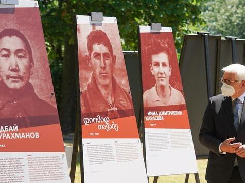 Steinmeier fordert mehr Anerkennung für sowjetische Kriegsopfer