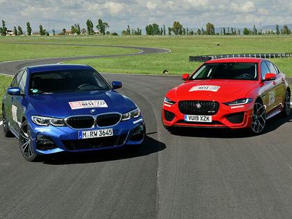 BMW 3er, Jaguar XE: Test Der Jaguar XE greift den BMW 3er an
