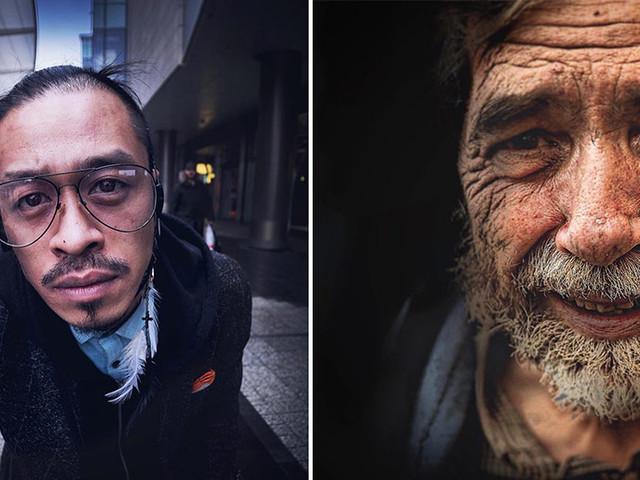Ein Londoner Glaser macht jeden Tag ein Portrait eines fremden Stadtbewohners