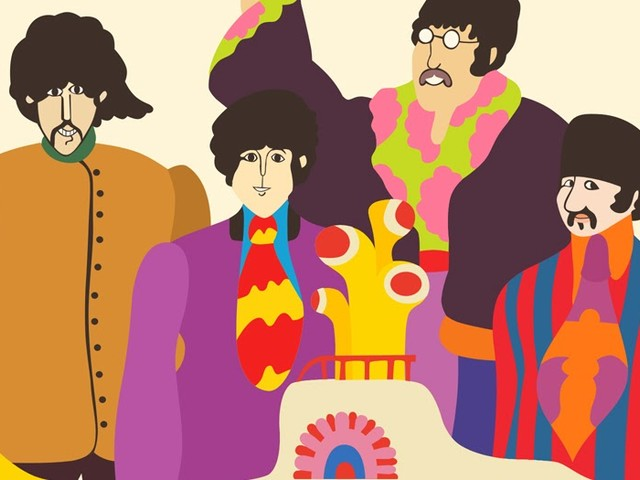 Jimmy, Ringo Starr & The Roots tauchen in einer Classroom Instruments Version von 'Yellow Submarine' unter