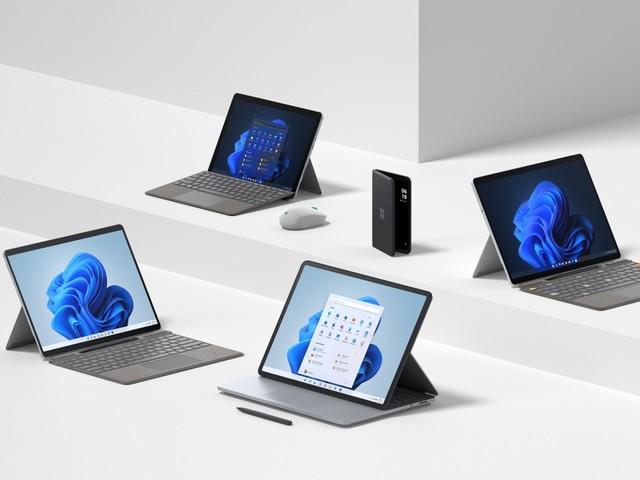 Ein neues Surface-Portfolio für Windows 11