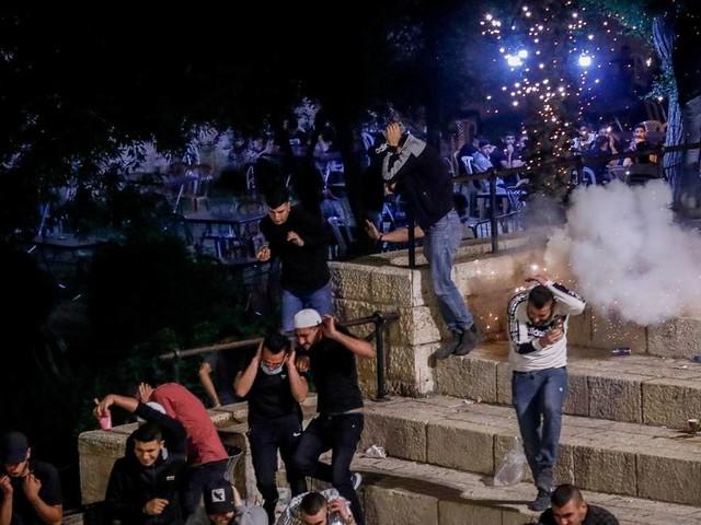 Hunderte Verletzte: Schwere Zusammenstöße in Jerusalems Altstadt