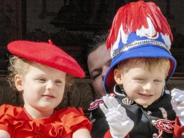 Fürstin Charlène von Monaco: Süßes Foto von Jacques und Gabriella