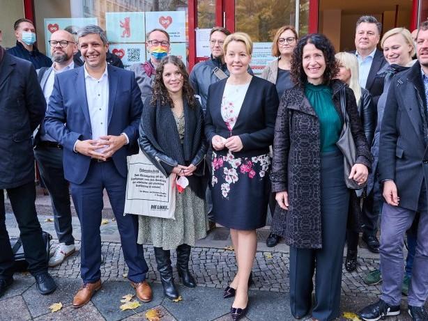 Berlin-Wahl 2021: Alle Zeichen stehen in Berlin auf Rot-Grün-Rot