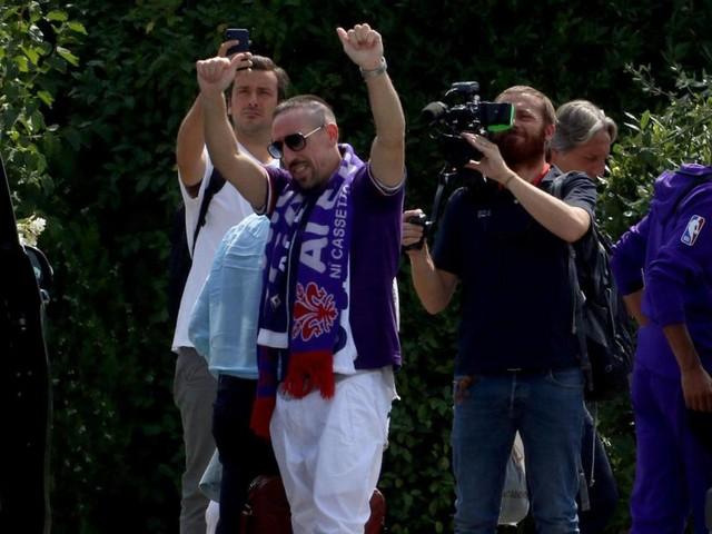 Ribery lässt die Herzen der Fiorentina-Fans höher schlagen