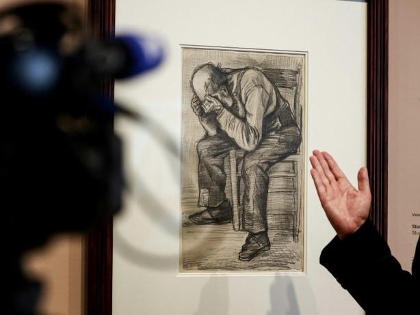 Neu entdeckte Van-Gogh-Zeichnung in Amsterdam ausgestellt
