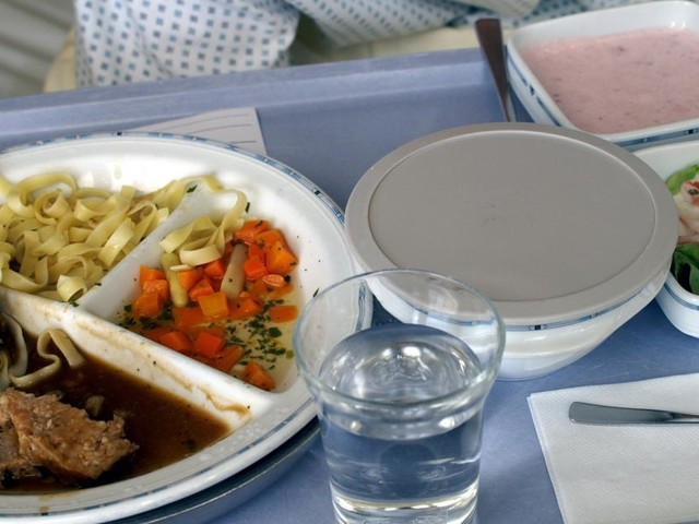 Persönlicher Speiseplan im Spital rettet Leben