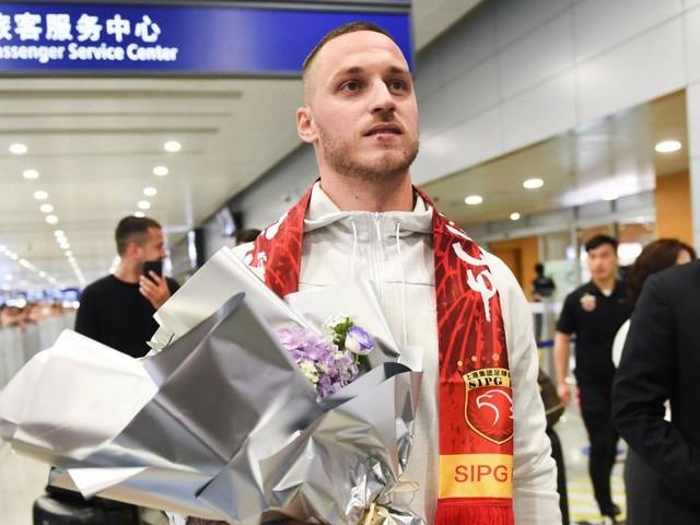 Euphorischer Empfang für Marko Arnautovic in China
